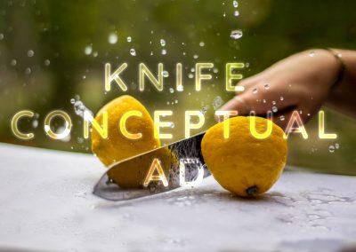 Knife Conceptual Ad