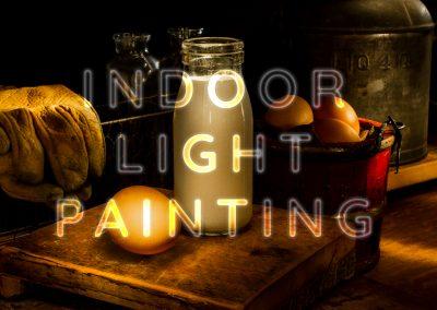 Indoor Light Painting